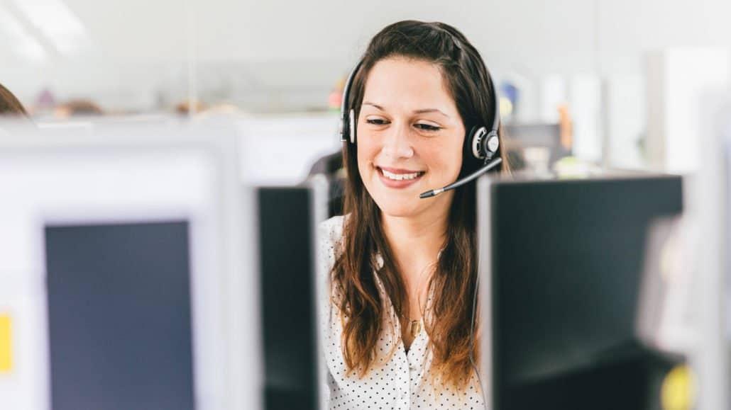 Melanie beantwortet im Kundenservice gerne Ihre Fragen.