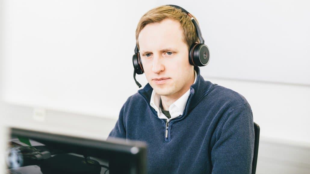 Dennis aus dem Technischen Support hilft Ihnen gerne weiter.