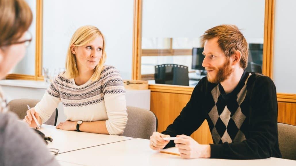 Steffi und Torben sind zwei unserer Marketingexperten.