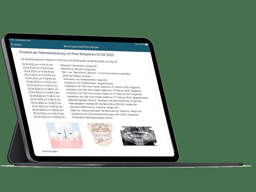 Digitaler Aufklärungsbogen in der ATHENA-App
