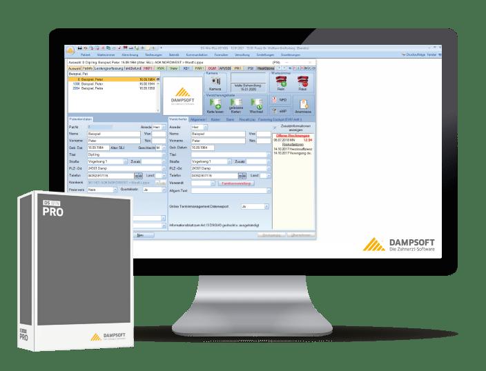 DS-Win-Pro marktführende Zahnarzt-Software