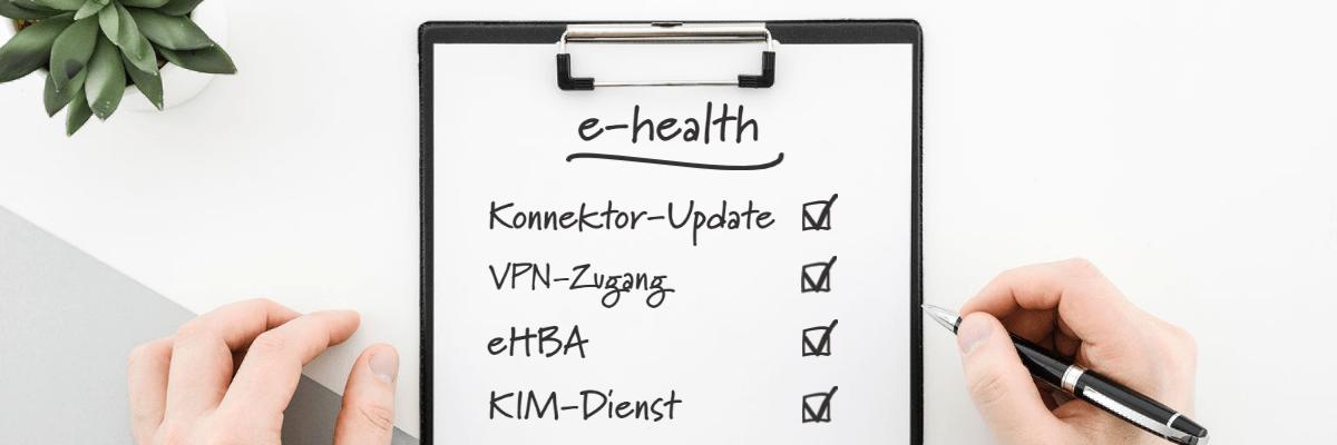 Checkliste e-health von Dampsoft