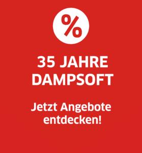 Dampsoft Aktion - 35. Jubiläum